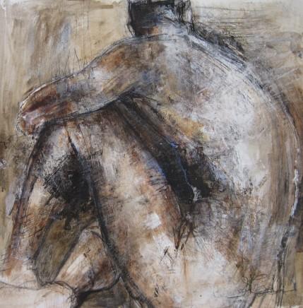 Susan Macarthur, Male nude resting, 2019
