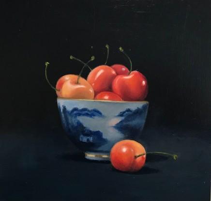 Jacqueline Taber, White Cherries