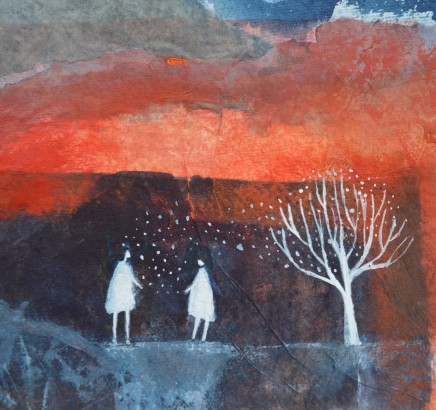 Julie Collins, White Tree, 2018