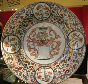 A RARE MASSIVE JAPANESE IMARI CHARGER, Late 17th century