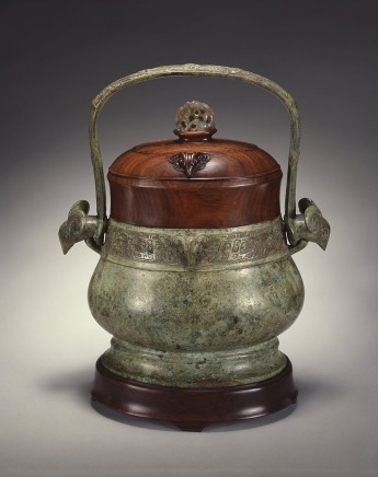 A CHINESE BRONZE RITUAL WINE VESSEL (YOU), Western Zhou dunasty