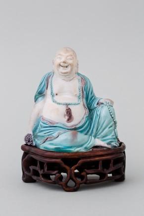 A FIGURE OF BUDAI, Kangxi (1662 – 1722)