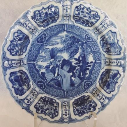 A RARE EXQUISITE KRAAK DISH, Wanli circa 1610
