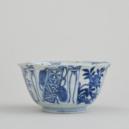 A CHINESE KRAAKWARE 'CROWCUP', Wanli (1573 – 1619)