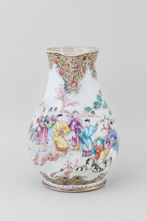 A LARGE FAMILLE ROSE CIDER JUG , Qianlong (1736 1795)