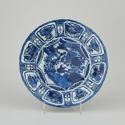A CHINESE KRAAKWARE DISH, Wanli (1595 1610)