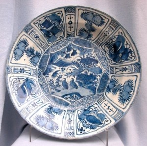 CHINESE KRAAK CHARGER, 万历年间 (1573 – 1619)