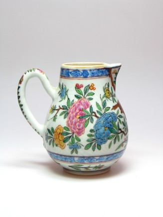 "A CHINESE ""DUTCH DECORATED"" CREAM JUG, Qianlong (1736-1795)"