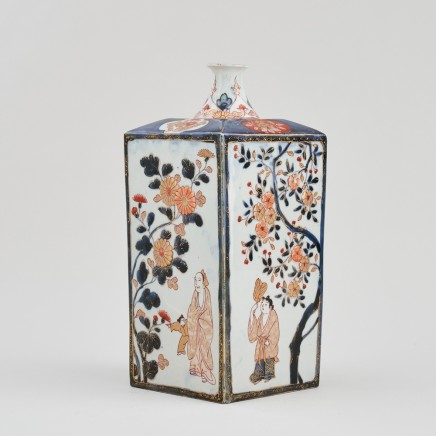 AN EARLY 18TH CENTURY JAPANESE IMARI TOKKURI FLASK, Early 18th century