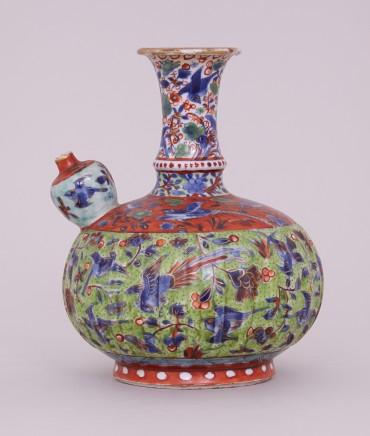 A 'CLOBBERED' KANGXI KENDI, Kangxi (1662-1722)