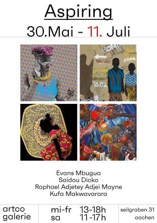 ASPIRING Saidou Dicko, Evans Mbugua, Raphael Adjetey Adjei Mayne, Kufa Makwavarara