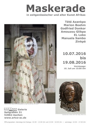 MASKERADE Group show
