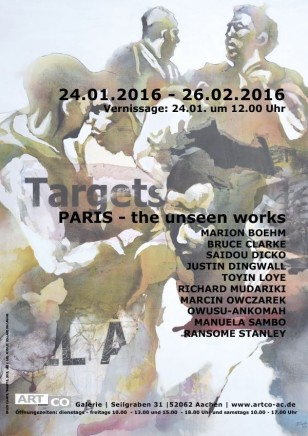 TARGETS - PARIS - THE UNSEEN WORKS Group show