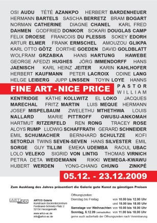 FINE ART - NICE PRICE Group exhibition