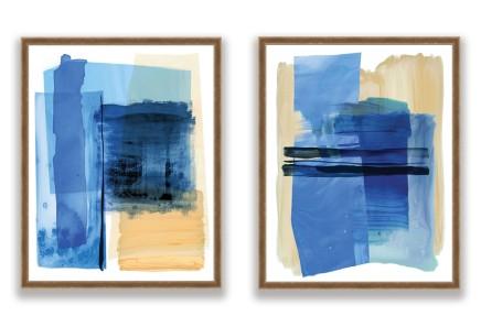 Calypso Blue Framed