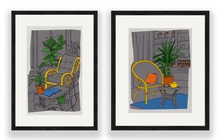Casa framed