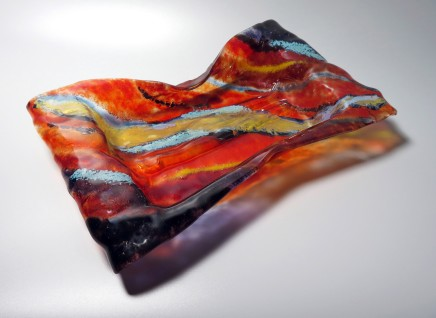 Teresa Chlapowski, Fire Cushion Bowl