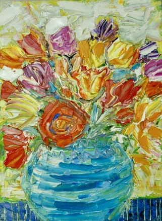 Penny Rees, Turquoise Vase