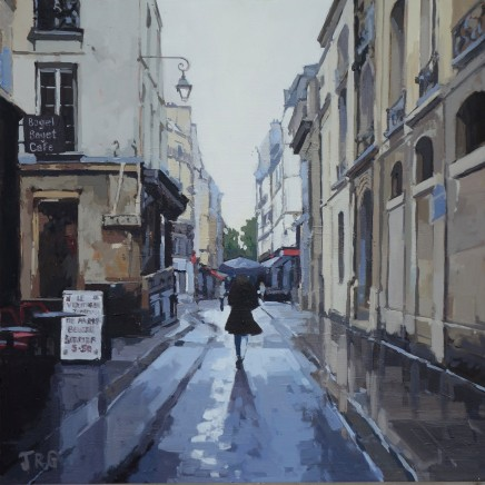 Jennifer Greenland, Rainy Day in Paris I