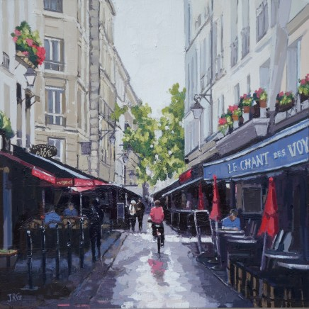 Jennifer Greenland, Rainy Day in Paris II