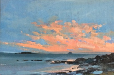 Colin Cook, Sunset at Blackwaterfoot