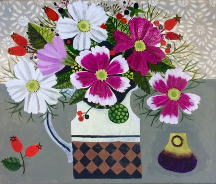 Vanessa Bowman, Cosmos, Rosehips and Fig