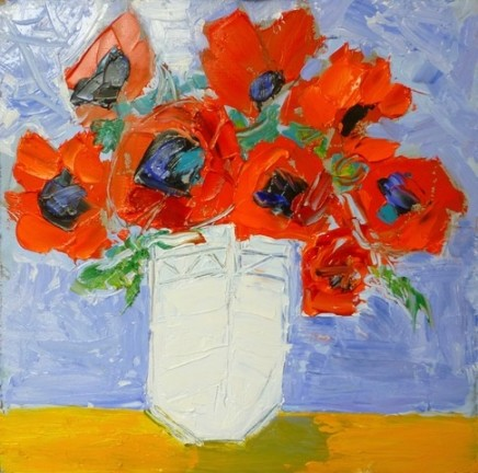 Penny Rees, Red Vase