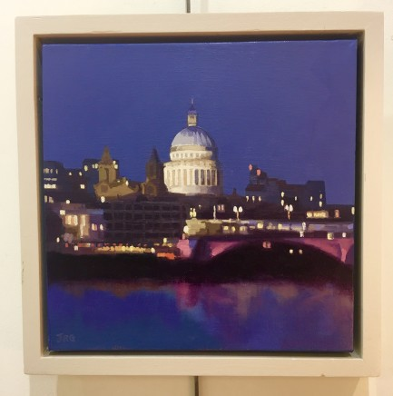 Jennifer Greenland, St Paul's by Night