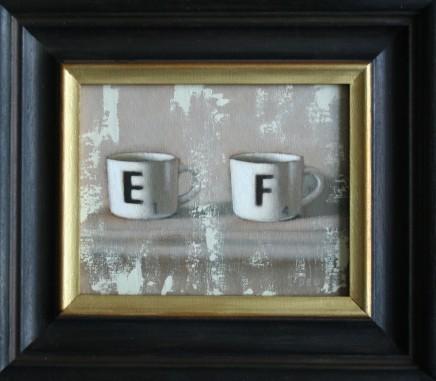 Diane Urwin, Coffee Cups II