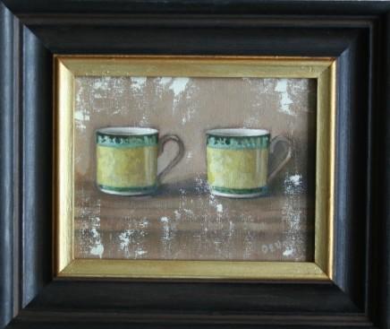 Diane Urwin, Coffee Cups IV