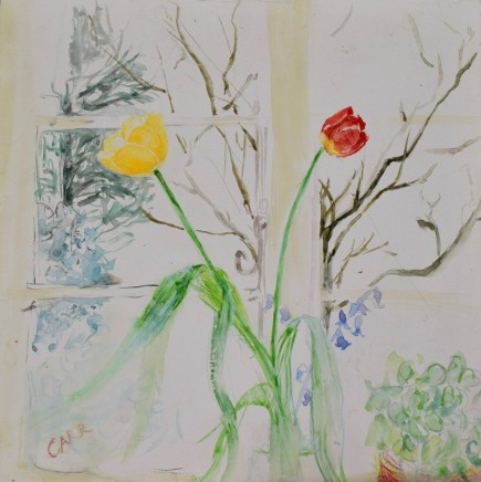 Dorothea Carr, Cottage Window Tulips