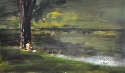 Richrd Colson, Figure by the Water