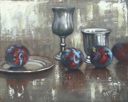 Diane Urwin, Pewter and Plums