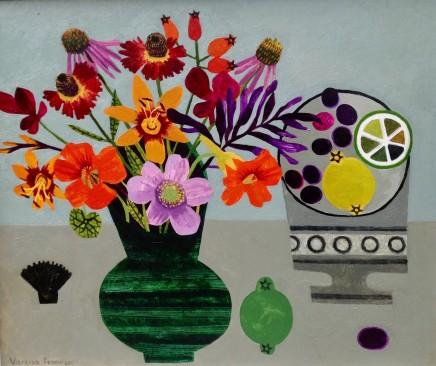 'Autumn Garden Flowers', Vanessa Bowman