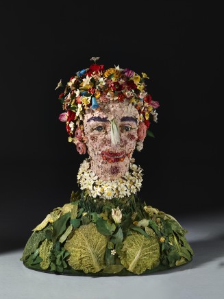 PRIMAVERA , Polychrome glazed ceramic, 2015