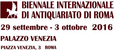 Biennale Internazionale di Antiquariato di Roma, Palazzo Venezia, Rome