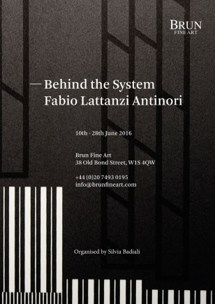 Behind the System Fabio Lattanzi Antinori