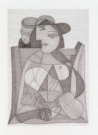 Irene Lees, 'Unrequited Devotion' Marie Therese Walter, 2018
