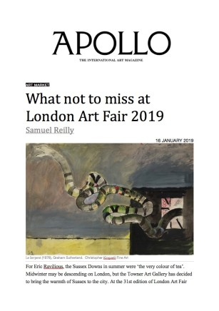 What Not To Miss At London Art Fair 2019