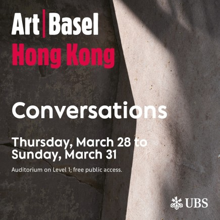 Huang Hai-Hsin | Art Basel Conversations Program: A Common Place? Artists in Art Fairs
