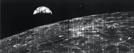 Image Credit: First view of Earth from Moon 1966, courtesy NASA