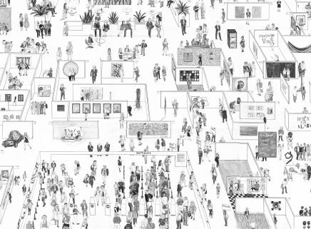 "Hai-Hsin Huang: ""Art Basel (detail)"" (2019) - Art Basel Hong Kong 2019"