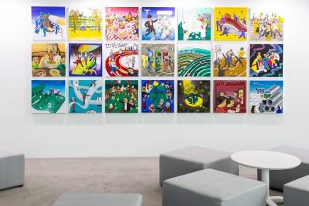 瑞銀於台北當代藝博會呈獻黃海欣委託作品,現場圖 | 作品將於 2020年台北當代藝術博覽會瑞銀典藏廳展出 | 攝影: Sean Wang 圖片由瑞銀提供