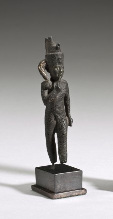 Egyptian statuette of Harpocrates, Late Dynastic Period, c.600 BC