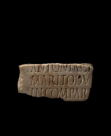 Roman marble inscription, 2nd-3rd century AD