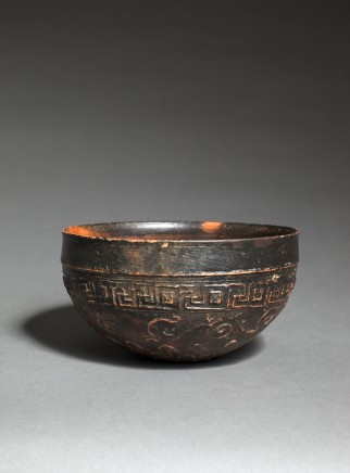 Megarian terracotta bowl, c.2nd century BC