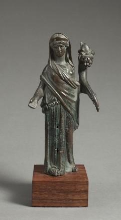 Roman bronze Fortuna, 1st-2nd century AD