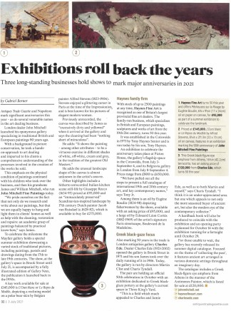Exhibitions roll back the years