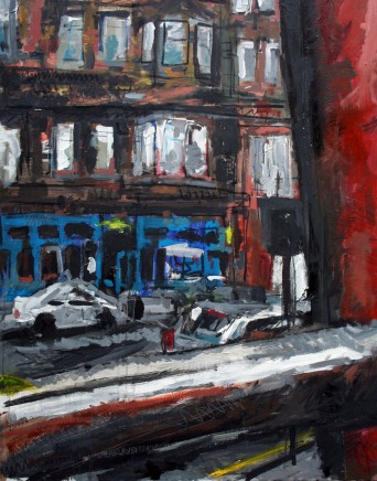 Matthew Thompson, View from Pub, Glasgow