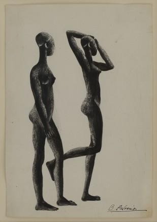 Benjamin Palencia, Dos Africanns, c1930